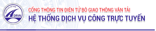 Hệ thống dịch vụ công trực tuyến BGTVT